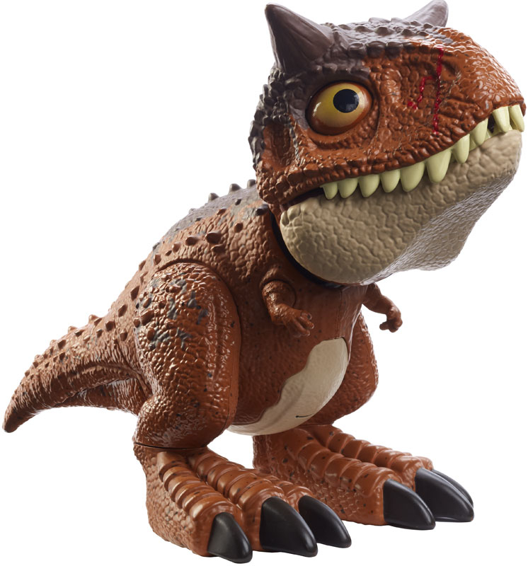 Wholesalers of Jurassic World Wild Chompin Carnotaurus Toro toys