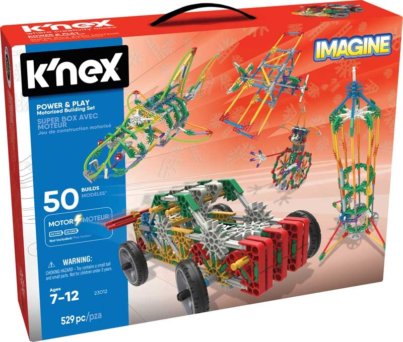 Wholesalers of Knex - Imagine Power & Play Motorized Building Set toys