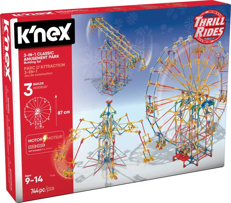 Wholesalers of Knex - Thrill Rides 3-in-1 Classic Amusement Park Building  toys
