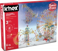 Wholesalers of Knex - Thrill Rides 3-in-1 Classic Amusement Park Building  toys image