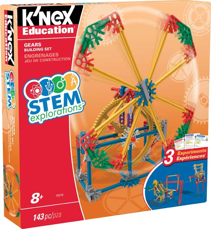 Wholesalers of Knex Education Stem Explorations Gears Building Set toys