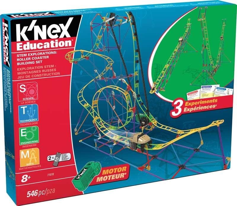 Wholesalers of Knex Education Stem Explorations Roller Coaster Building Se toys