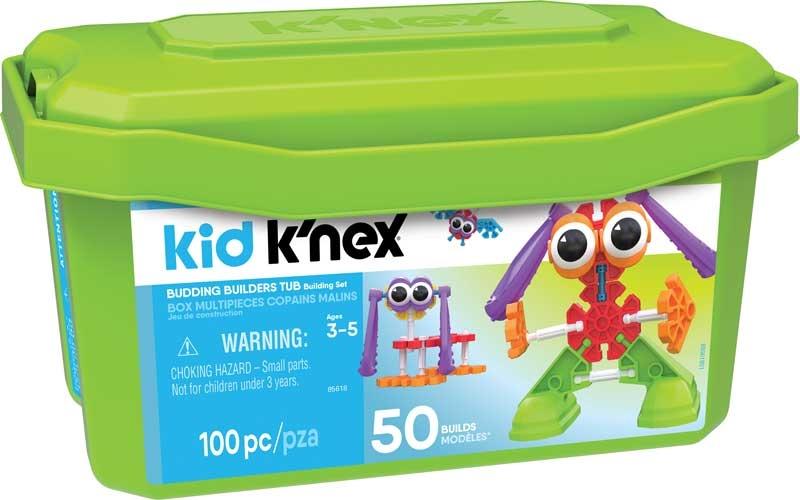 Wholesalers of Kid Knex Budding Builders Tub toys