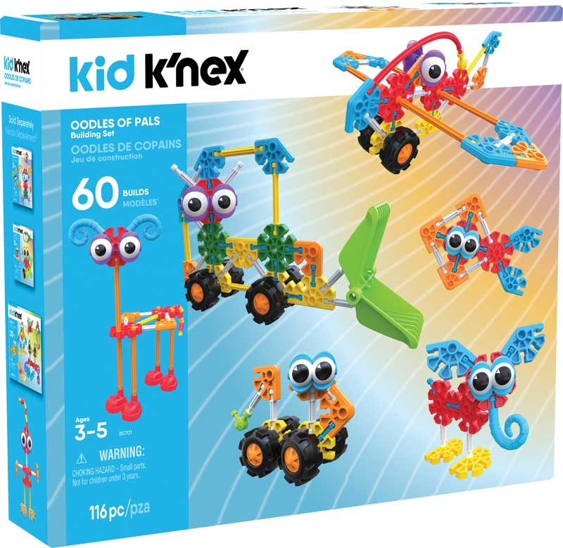 Wholesalers of Kid Knex Oodles Of Pals toys