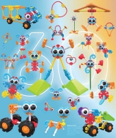 Wholesalers of Kid Knex Oodles Of Pals toys image 6