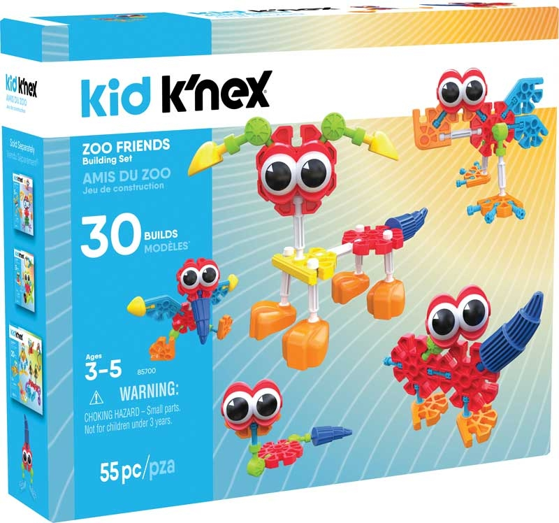 Wholesalers of Kid Knex Zoo Friends toys