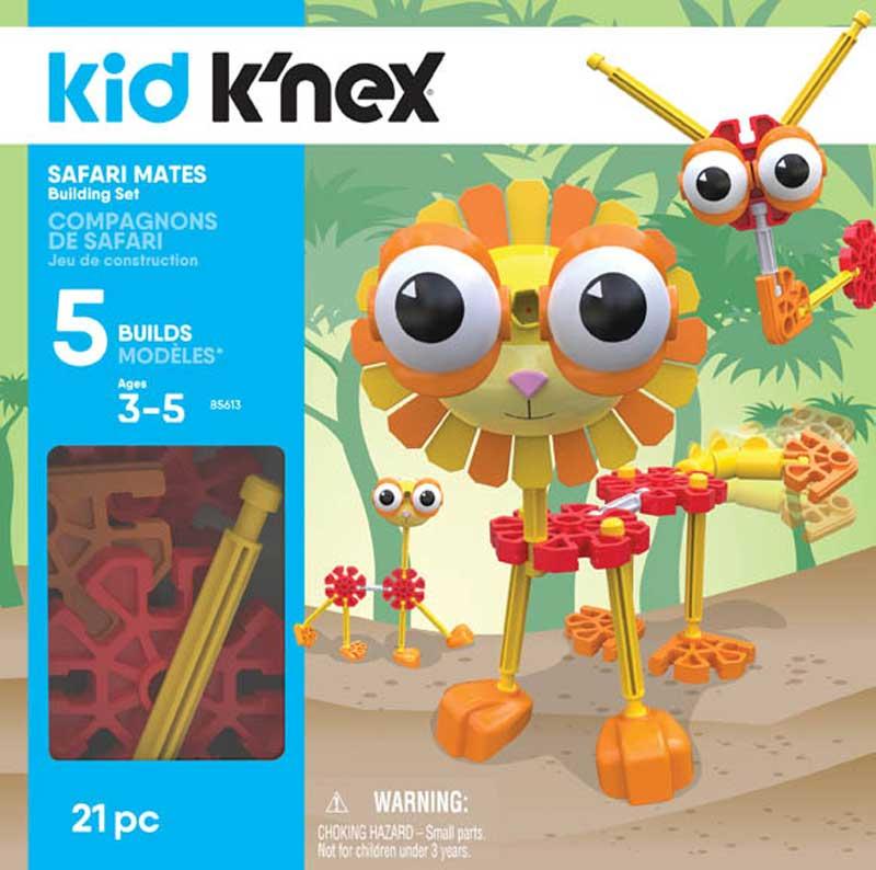 Wholesalers of Kid Knex Safari Mates Building Set toys