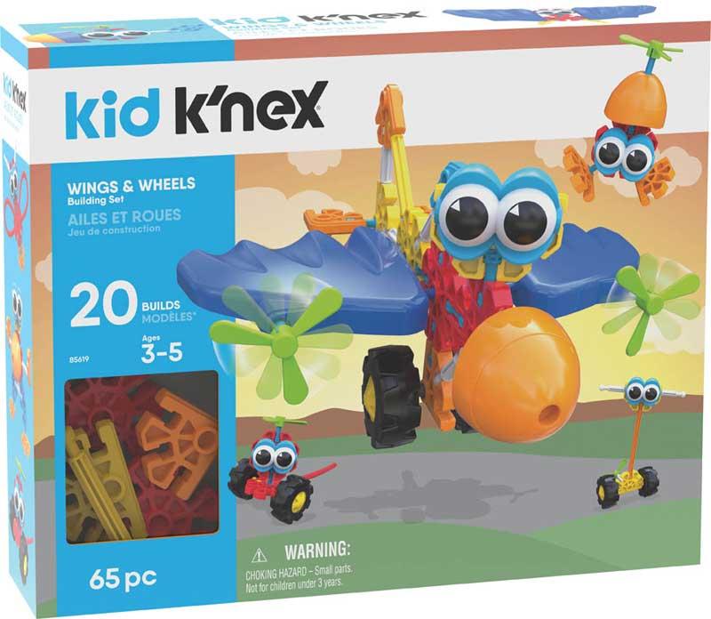 Wholesalers of Kid Knex Wings & Wheels Building Set toys