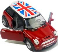 Wholesalers of Kinsmart Mini Cooper S + Printing toys image