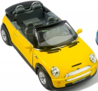 Wholesalers of Kinsmart Mini Cooper S Convertible toys image