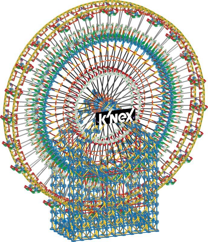 Wholesalers of Knex 6ft Ferris Wheel Building Set toys