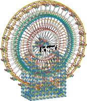 Wholesalers of Knex 6ft Ferris Wheel Building Set toys image