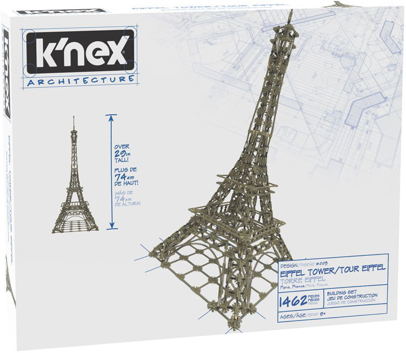 Wholesalers of Knex Architecture Eiffel Tower toys