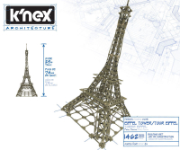 Wholesalers of Knex Architecture Eiffel Tower toys image 3