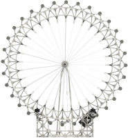 Wholesalers of Knex Architecture London Eye toys image 2