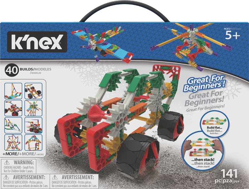 Wholesalers of Knex Beginner 40 Model Building Set toys