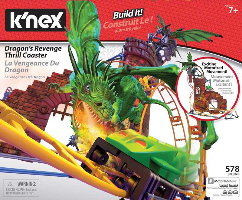 Wholesalers of Knex Dragon Revenge Roller Coaster toys