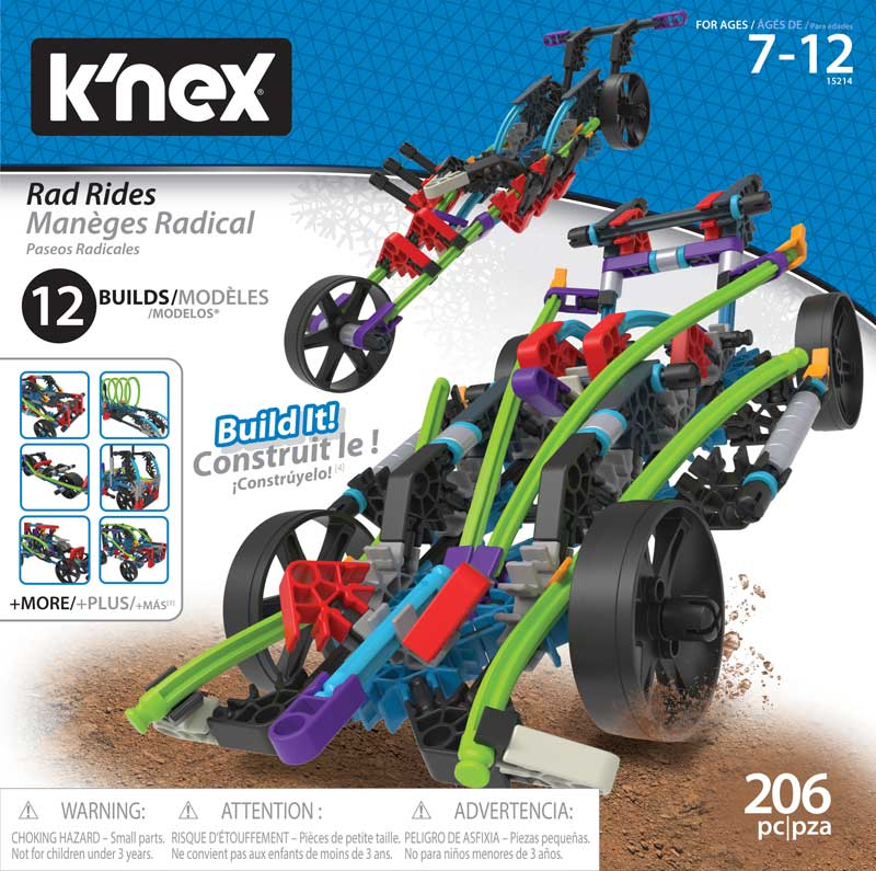 Wholesalers of Knex Rad Rides 12 N 1 Building Set toys