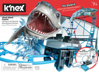 Wholesalers of Knex Tabletop Thrills Shark Attack Coaster toys Tmb