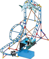 Wholesalers of Knex Tabletop Thrills Shark Attack Coaster toys image 2