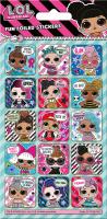 Wholesalers of L.o.l. Surprise Glitter Captions Foil Stickers toys image