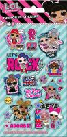 Wholesalers of L.o.l.surprise Glitter Foil Stickers toys image