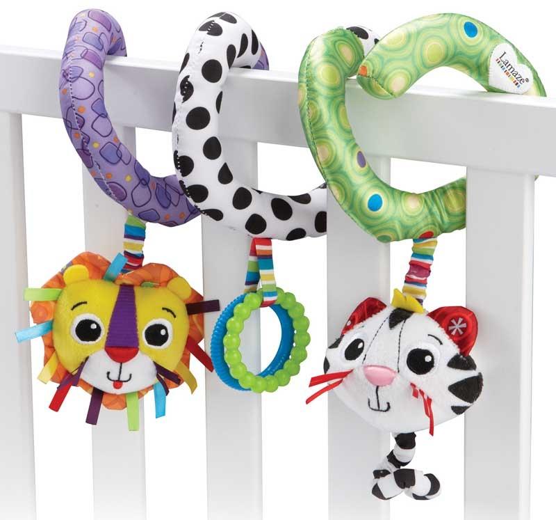 Wholesalers of Lamaze Activity Spiral toys