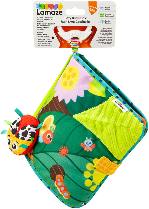 Wholesalers of Lamaze Bitty Bug Book toys