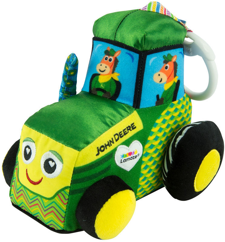 Wholesalers of Lamaze Clip And Go John Deere Tractor toys