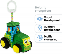 Wholesalers of Lamaze Clip And Go John Deere Tractor toys image 4
