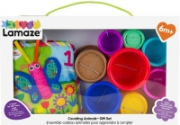 Wholesalers of Lamaze Counting Animals Book And Stacking Cups Gift Set toys image