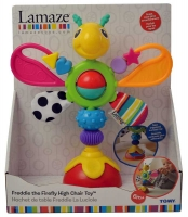 Wholesalers of Lamaze Freddie The Firefly Highchair Toy toys image