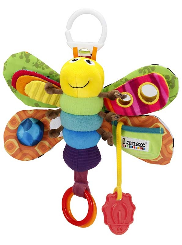 Wholesalers of Lamaze Freddie The Firefly toys
