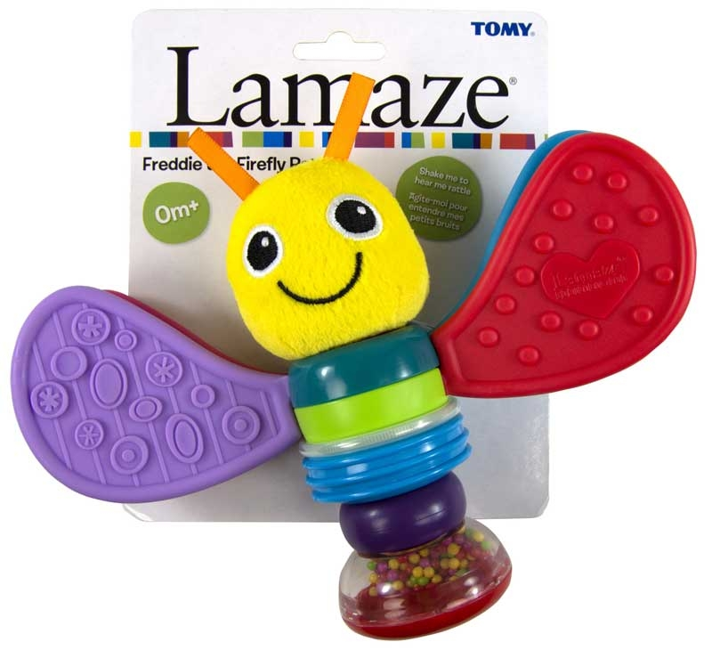 Wholesalers of Lamaze Freddy The Firefly Rattle toys
