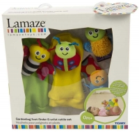 Wholesalers of Lamaze Gardenbug Foot Wrist toys image