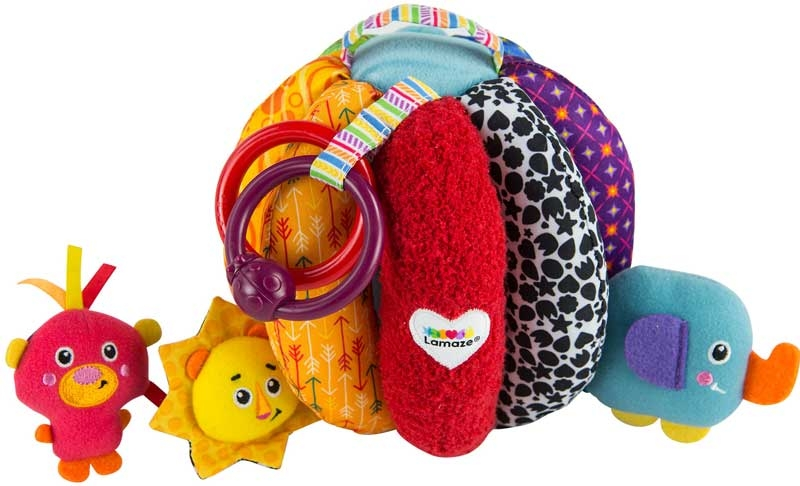 Wholesalers of Lamaze Grab And Hide Ball toys
