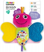 Wholesalers of Lamaze Mini Butterfly Teether toys image