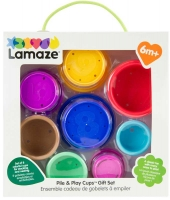 Wholesalers of Lamaze Pile And Play Stacking Cups Gift Set toys image