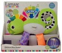 Wholesalers of Lamaze Rainbow Glow Rosie toys image
