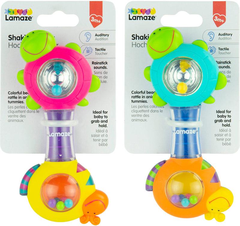 Wholesalers of Lamaze Shakin Shell Rattle Asst toys