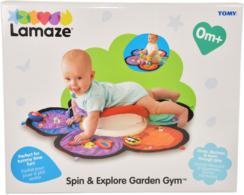 Wholesalers of Lamaze Spin And Explore Garden Gym - Captain Calamari toys