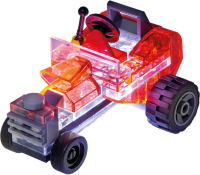 Wholesalers of Laser Pegs Microsparks Mini Rod & Red Motorcycle toys image 2