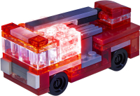 Wholesalers of Laser Pegs Microsparks Red Formula Car & Ladder Truck toys image 2