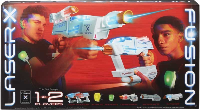 Wholesalers of Laser X Fusion Blaster toys