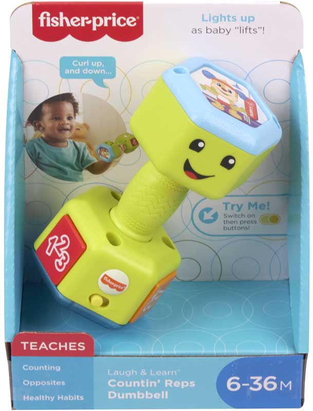 Wholesalers of Laugh & Learn Dumbbell toys