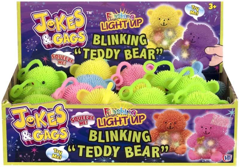 Wholesalers of Light Up Blinking Teddy Bear toys