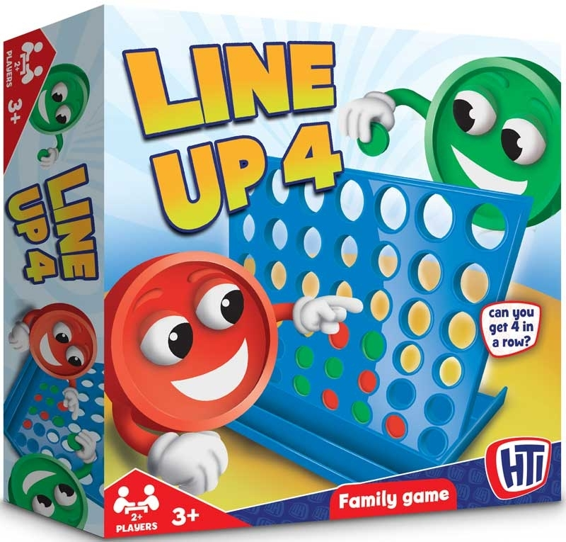 Wholesalers of Line Up 4 toys