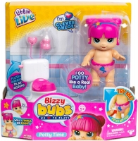 Wholesalers of Little Live Bizzy Bubs Potty Time Clever Chloe toys image