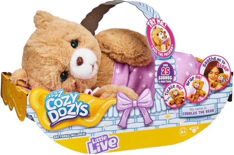 Wholesalers of Little Live Cozy Dozys toys