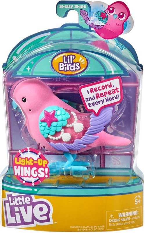 Wholesalers of Little Live Light-up Songbirds S9 toys